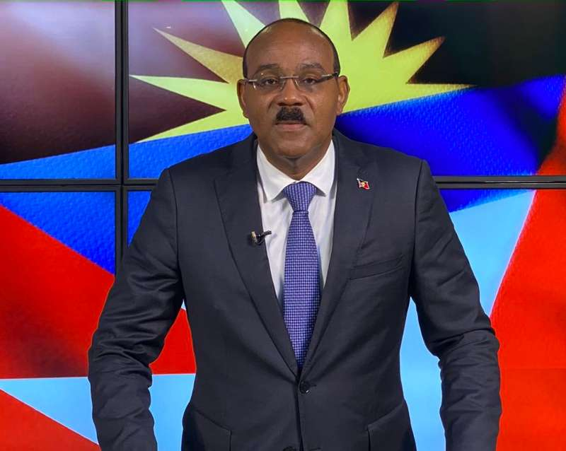 Prime Minister Gaston Browne of Antigua and Barbuda Advocates for Sustainable Development, Interview with Ambassador Dario Item